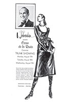 "Oscar de la Renta Ad for ""The Nebraska"", 1970 - No. 935 pencil on textured paper"